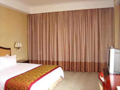 酒店客房遮光窗帘制作