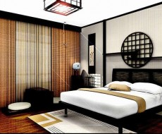 高档酒店中国风窗帘