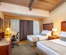 酒店客房纯色全遮光窗帘