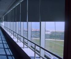 新款办公室遮光遮阳卷帘