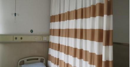 隔帘宽条纹帘